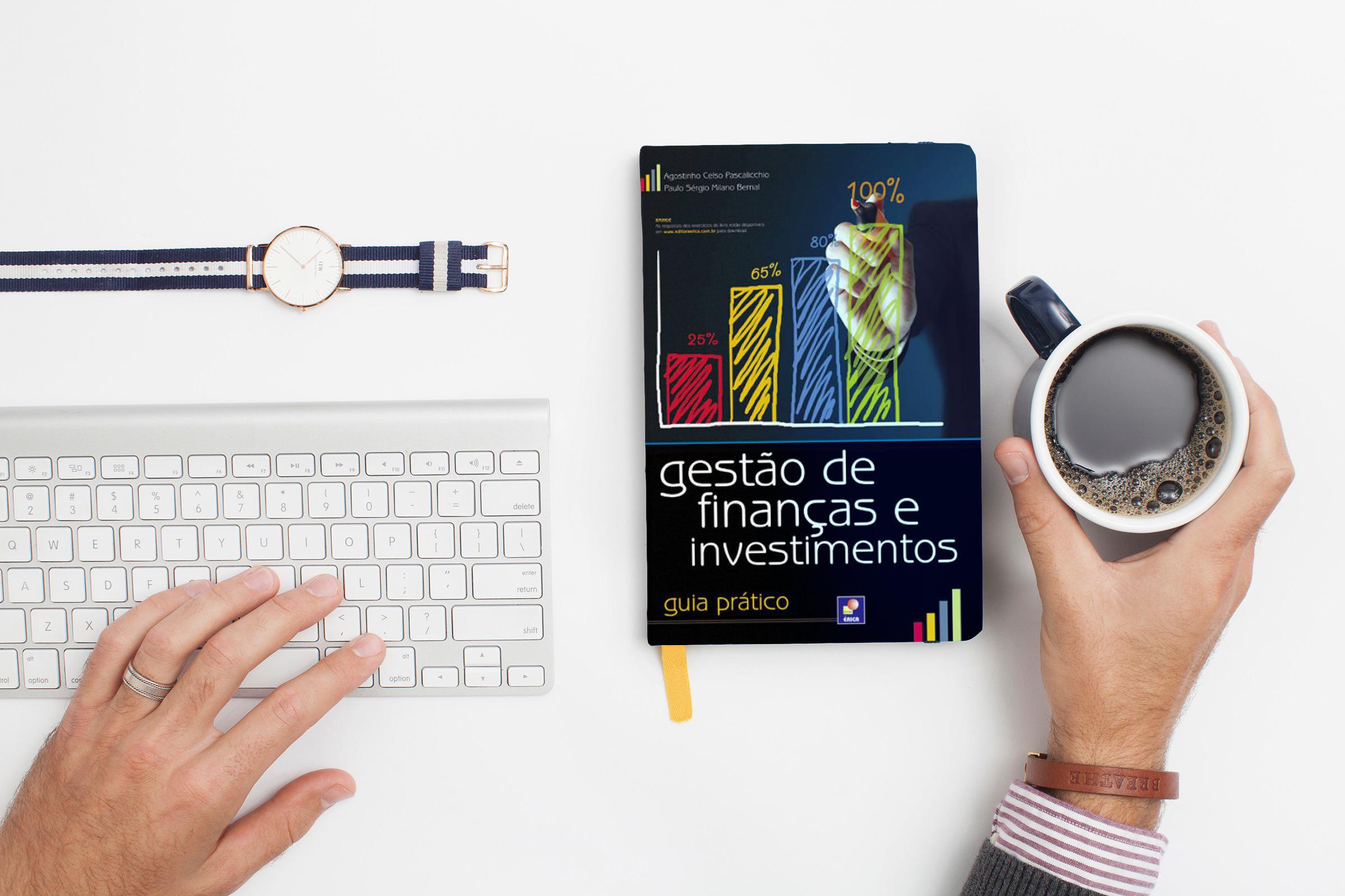 Livro Gestão de finanças e investimentos