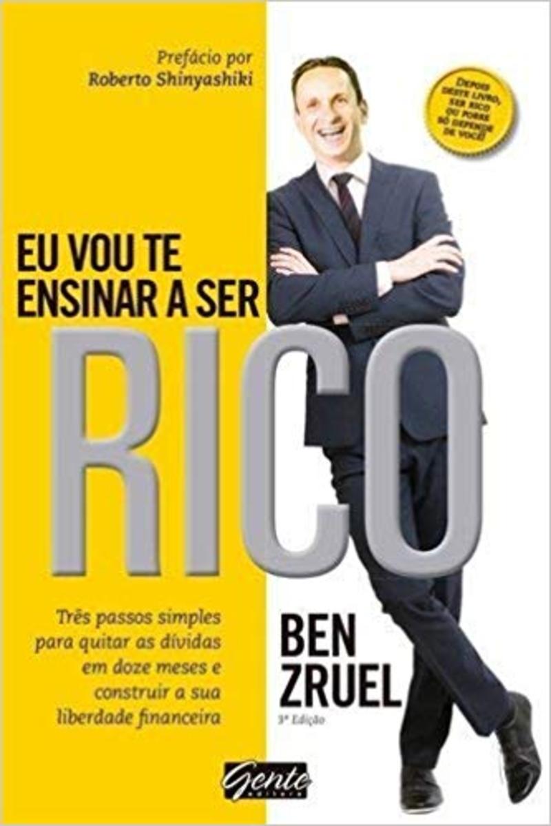 Livro Eu Vou te Ensinar a Ficar Rico